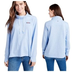 NEW Vineyard Vines Relaxed Funnel Neck Sweater